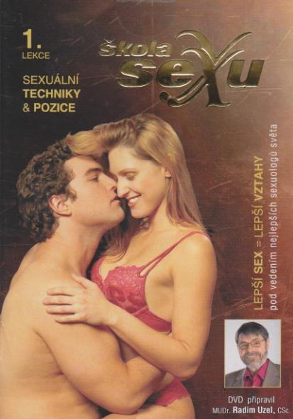 Škola sexu 01 - Sexuální techniky a pozice - DVD
