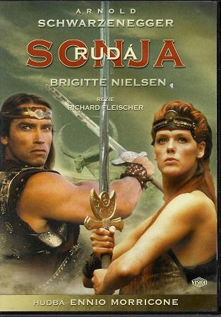 Rudá Sonja ( plast/slim ) DVD