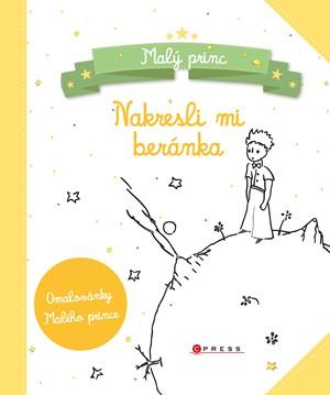 Malý princ - Nakresli mi beránka - kniha omalovánek