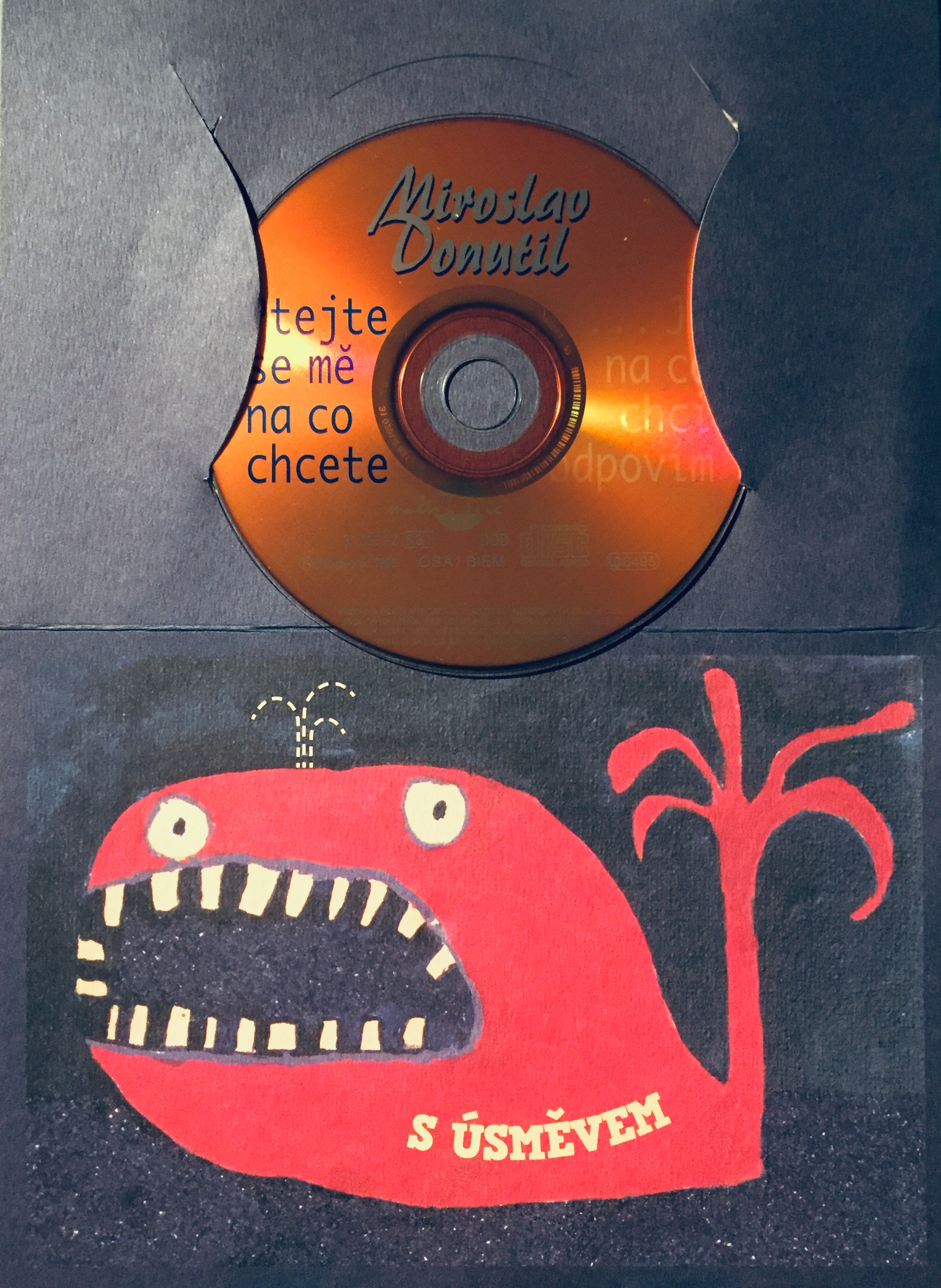 Miroslav Donutil - Ptejte se mě na co chcete...a já na co chci odpovím - CD /dárkový obal/