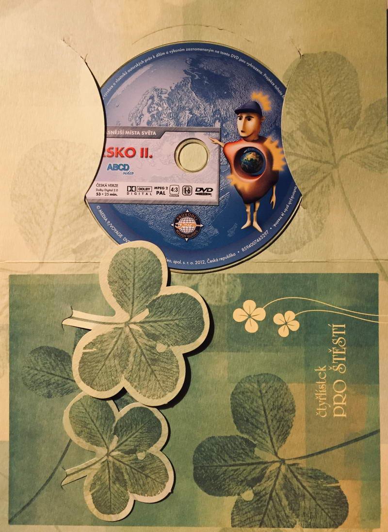 Nejkrásnější místa světa - Irsko II - DVD /dárkový obal/