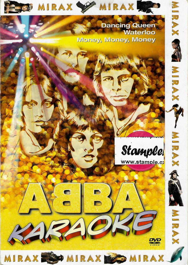 Abba - Karaoke - DVD pošetka