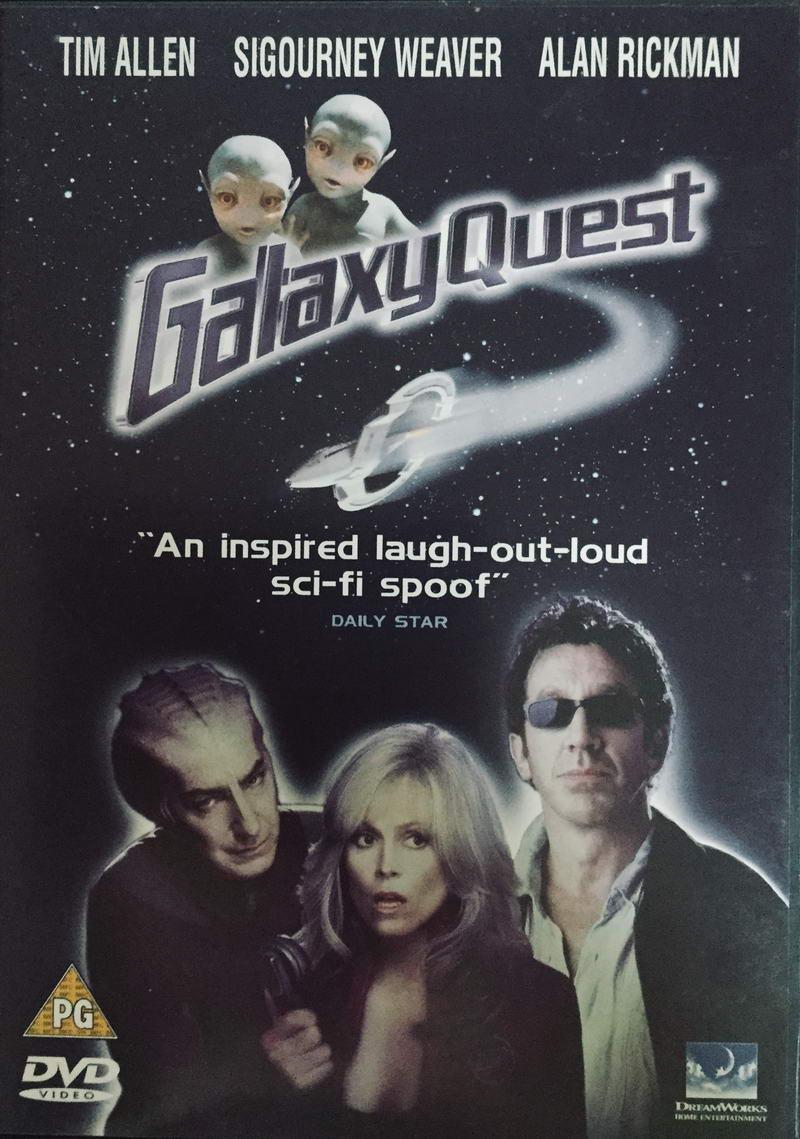 Galaxy Quest - DVD v originálním znění /plast/