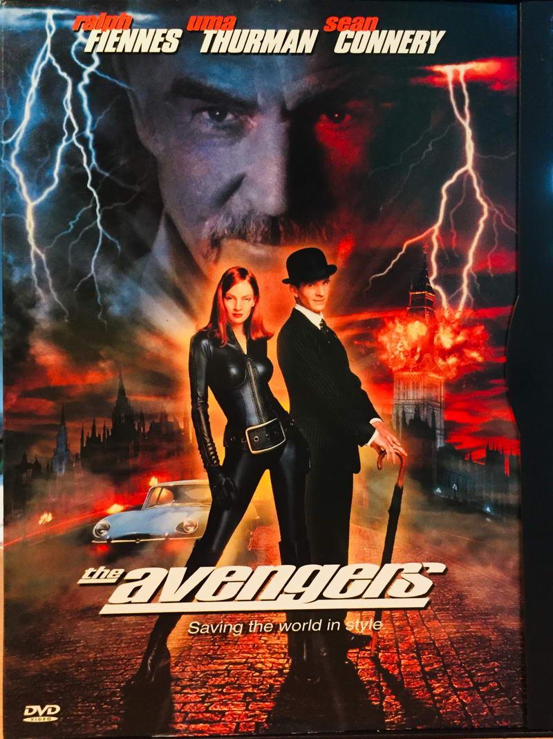 The Avengers / Mstitelé - DVD /plast/