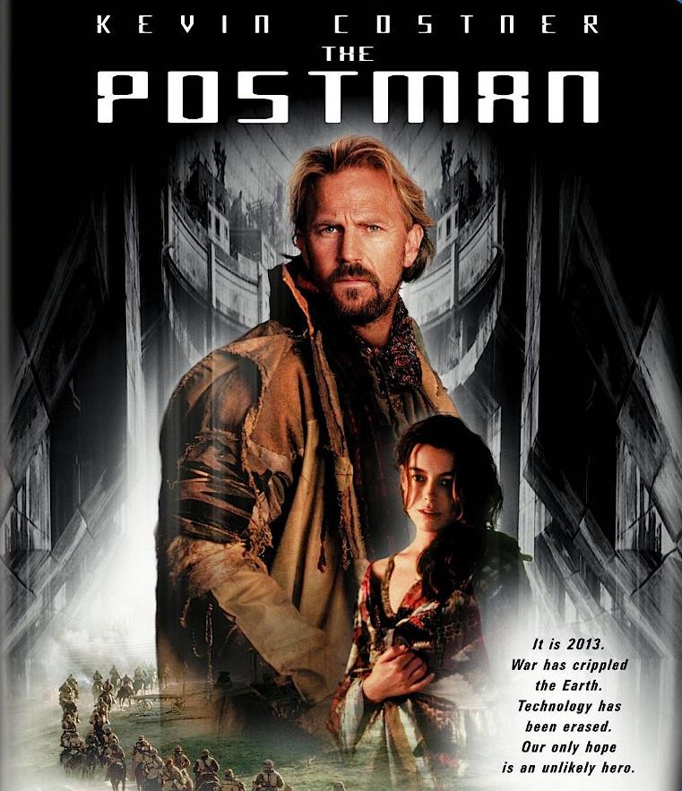 The Postman / Posel budoucnosti - DVD /plast/
