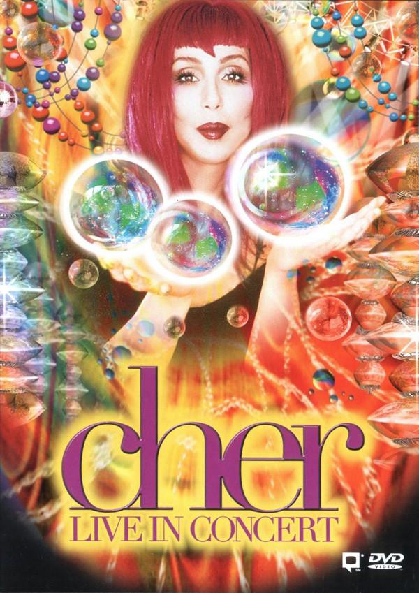 Cher - Live in Concert - DVD /plast/
