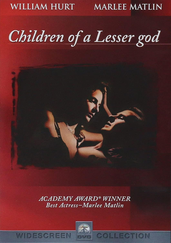 Children of a Lesser god / Bohem zapomenuté děti - DVD /plast/