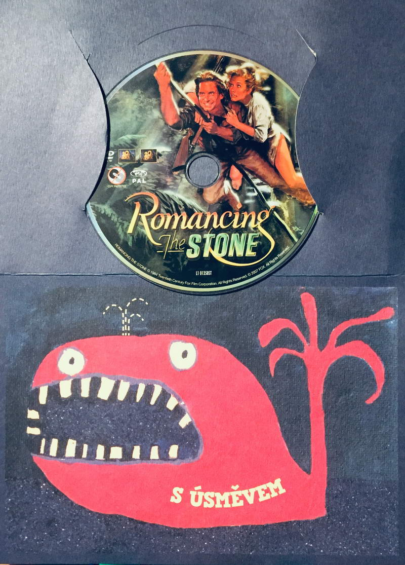 Romancing the Stone / Honba za diamantem - DVD /dárkový obal/
