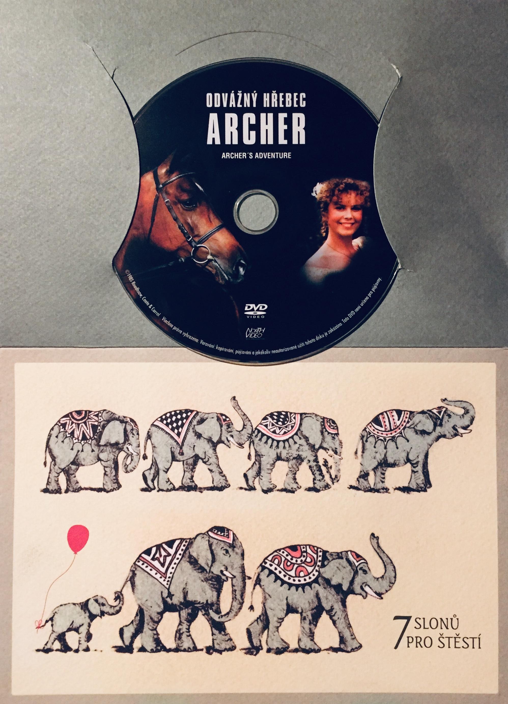 Odvážný hřebec Archer - DVD /dárkový obal/