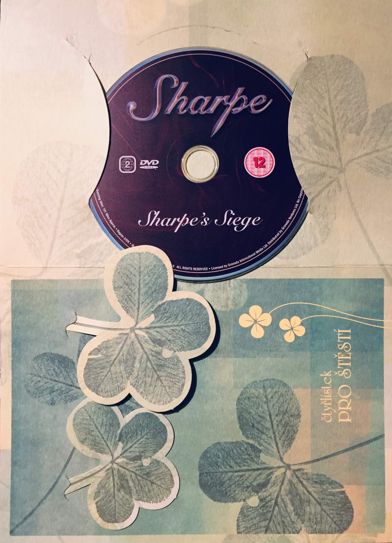 Sharpe - Sharpe's Siege / Sharpovo obléhání - DVD /dárkový obal/