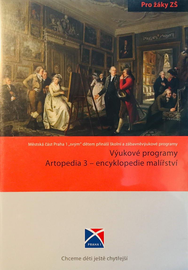PC - Výukové programy Artopedia 3 - encyklopedie malířství - DVD-ROM /plast/