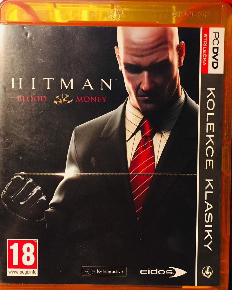 PC hra - Hitman Blood & Money - DVD-ROM /plast//bazarové zboží/
