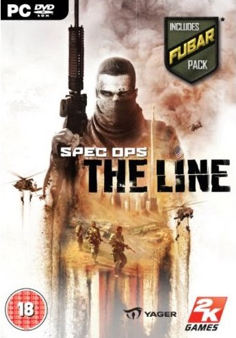 PC hra - Spec Ops - The Line - DVD-ROM /plast//bazarové zboží/