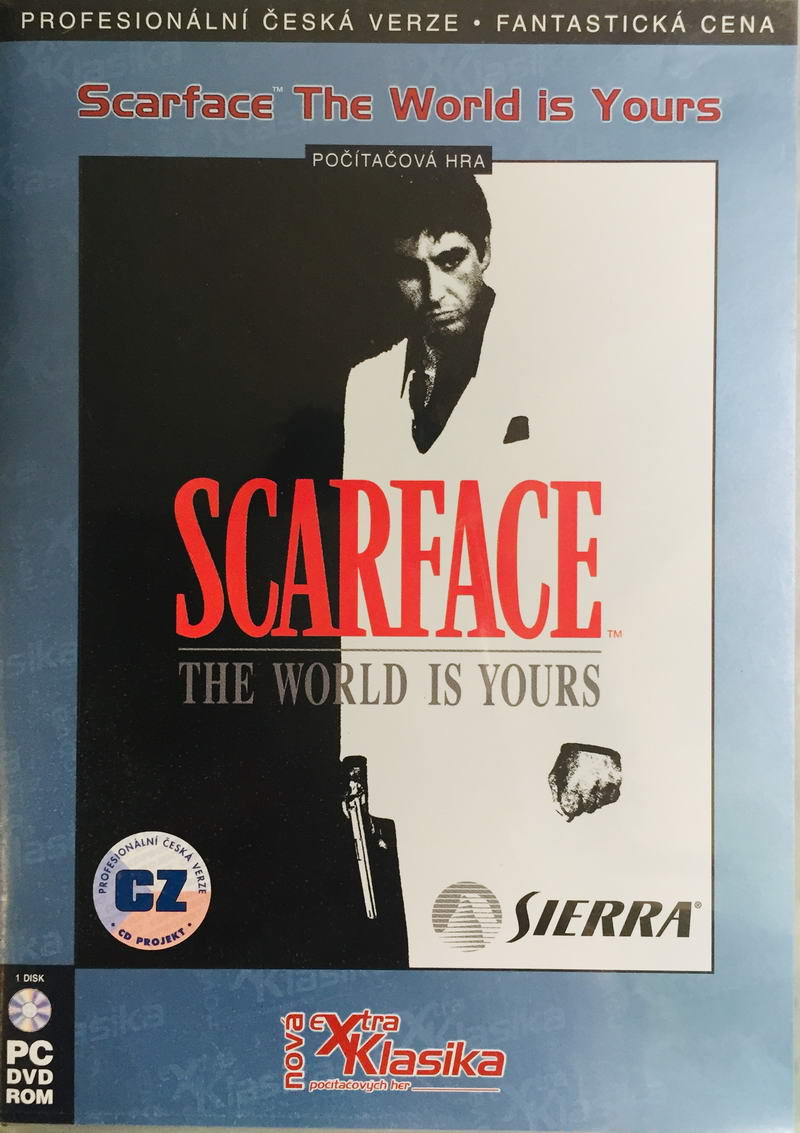 PC hra - Scarface - DVD-ROM /plast//bazarové zboží/
