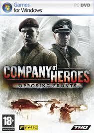 PC hra - Company of Heroes - Opposing Fronts - DVD-ROM /plast//bazarové zboží/