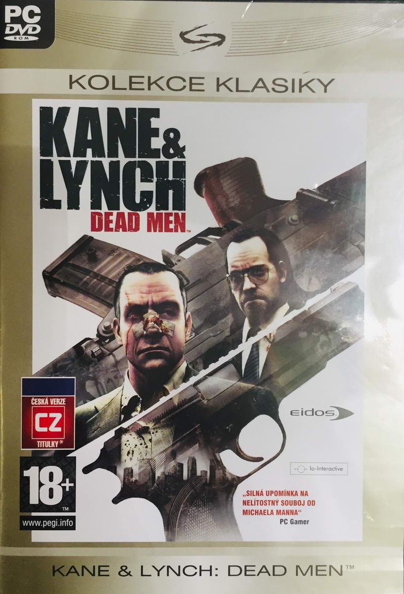 PC hra - Kane & Lynch: Daed men - DVD-ROM /plast//bazarové zboží/