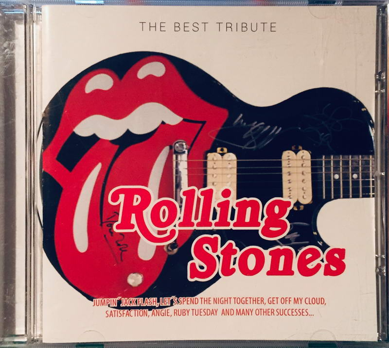 Rolling Stones - The Best Tribute - CD /plast/
