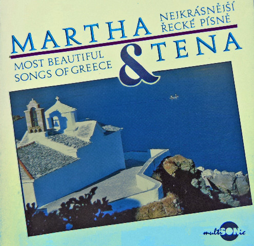 Martha & Tena - Nejkrásnější řecké písně - CD /plast/