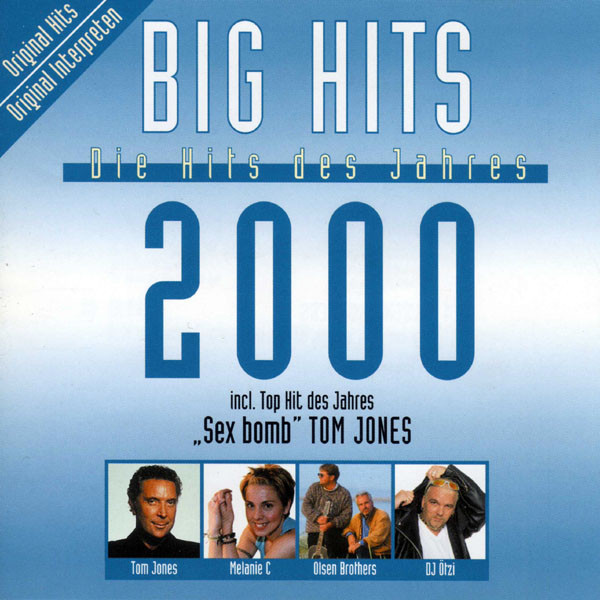 Big Hits - Die Hits des Jahres 2000 - CD /plast/