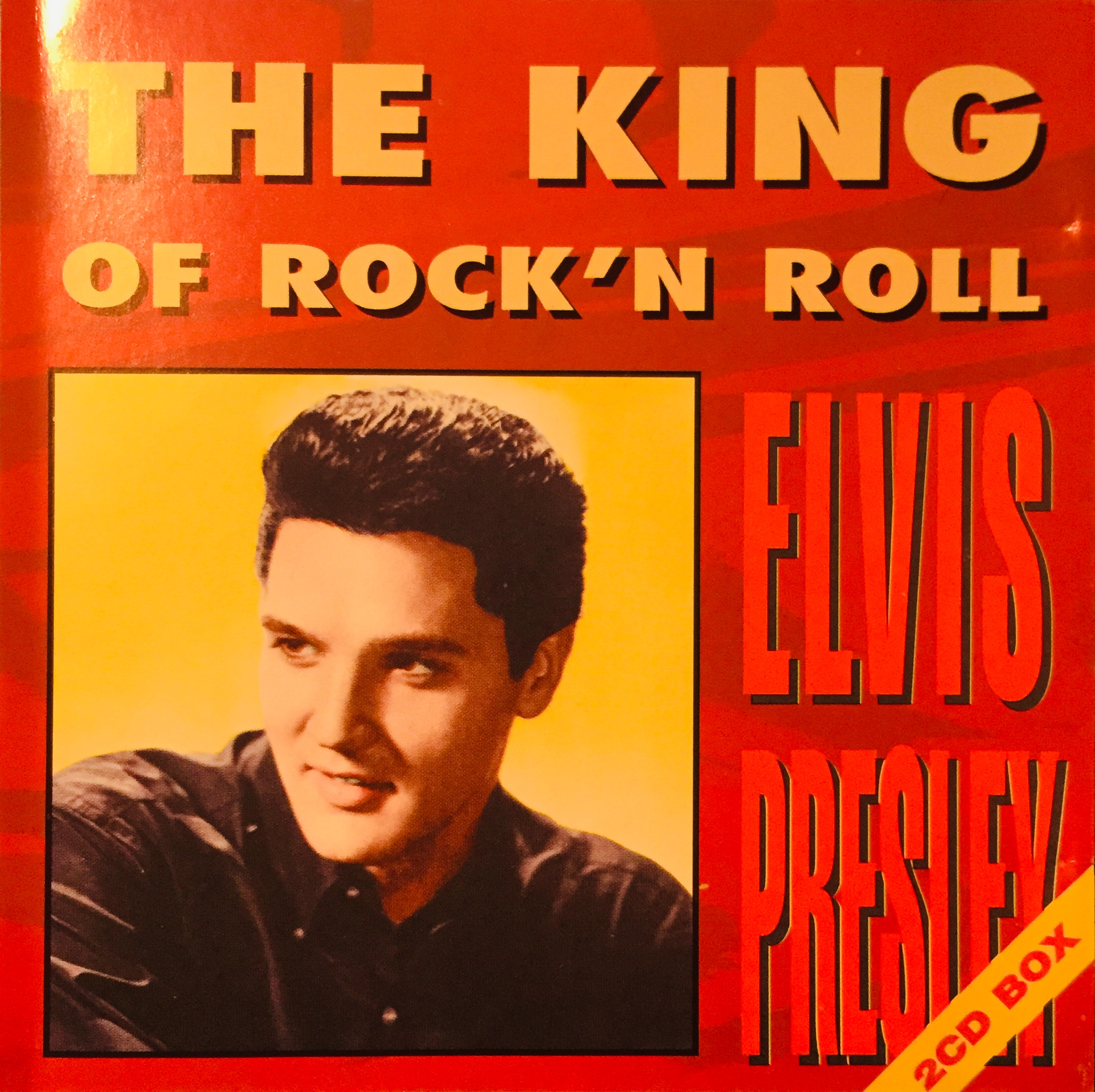 Elvis Presley - The King of Rock 'n' Roll - 2xCD /plast/