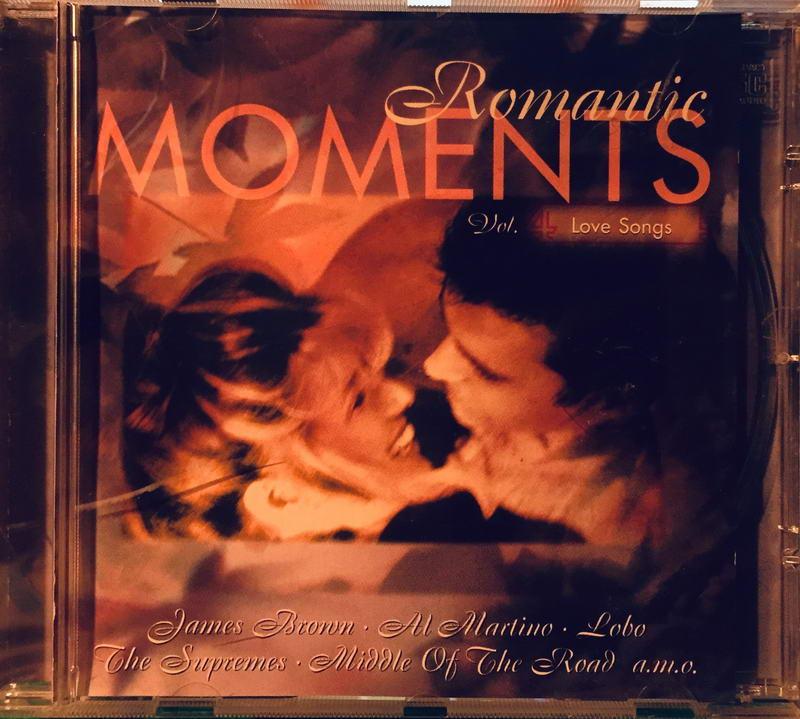 Romantic Moments - Vol. 4 - Love Songs - CD /plast/