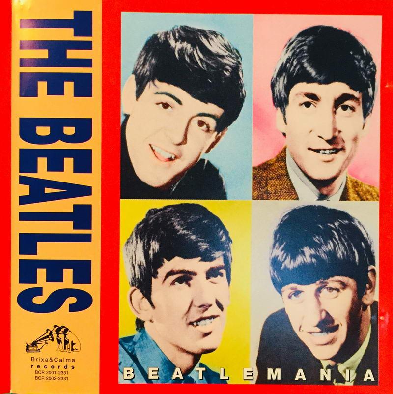 The Beatles - Beatlemania - 2xCD /plast/