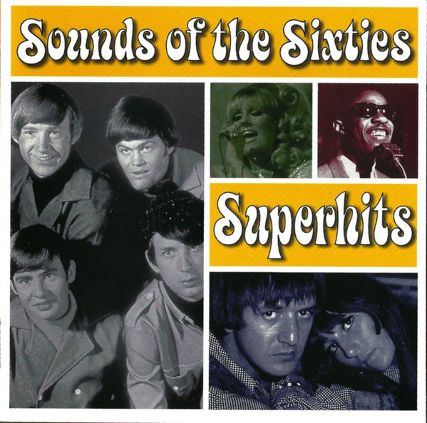 Sounds of the Sixties - Superhits - 2xCD /plast/