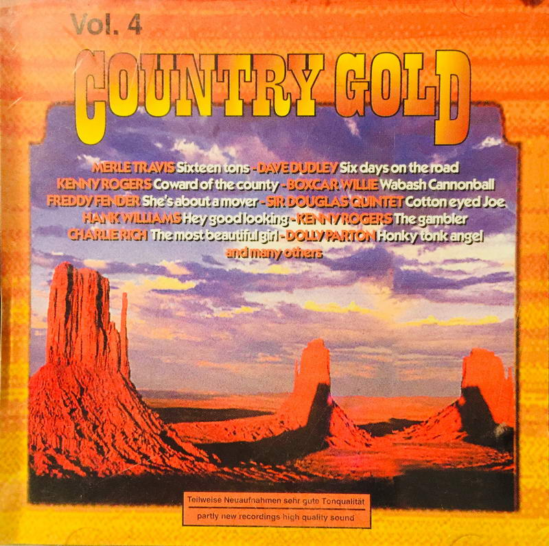 Country Gold - Vol. 4 - CD /plast/