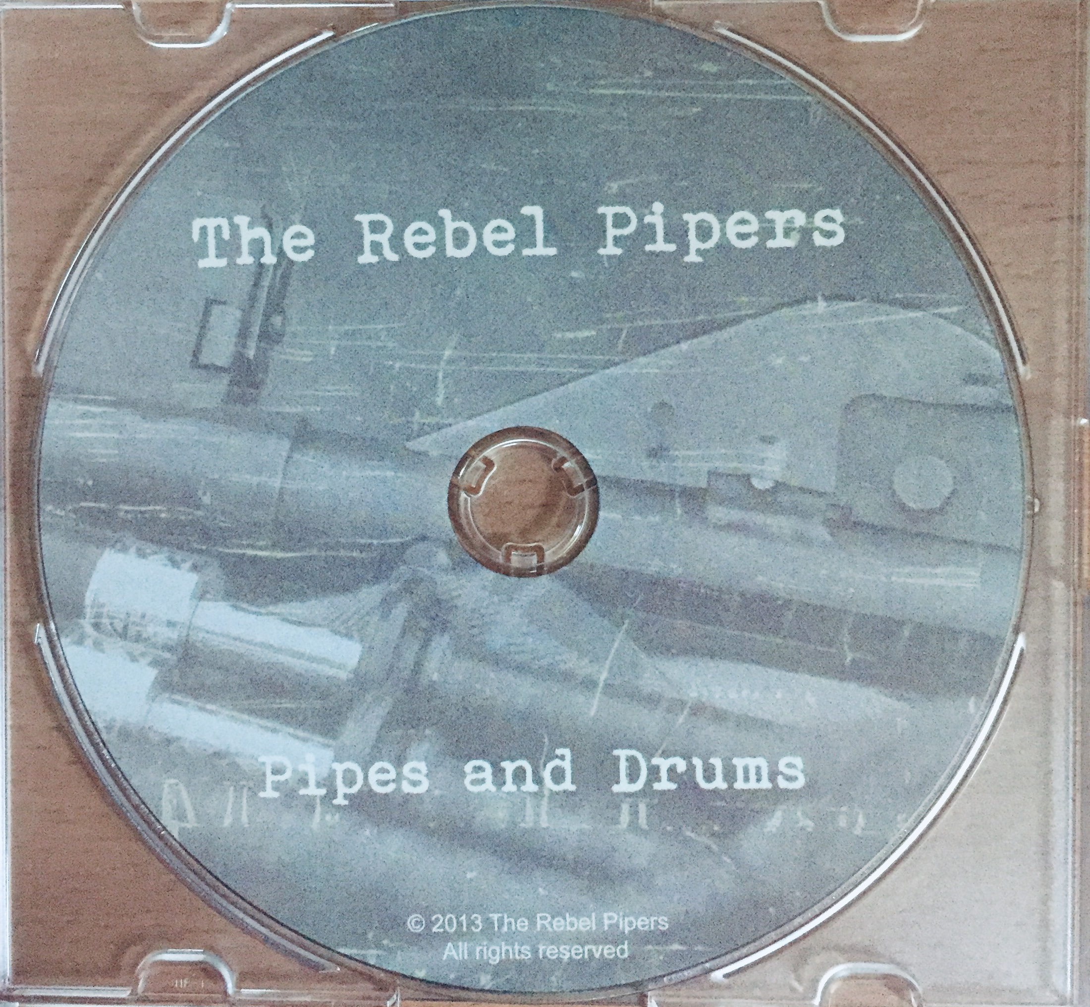 The Rebel Pipers - Pipes and Drums - CD /plast slim/ /bazarové zboží/