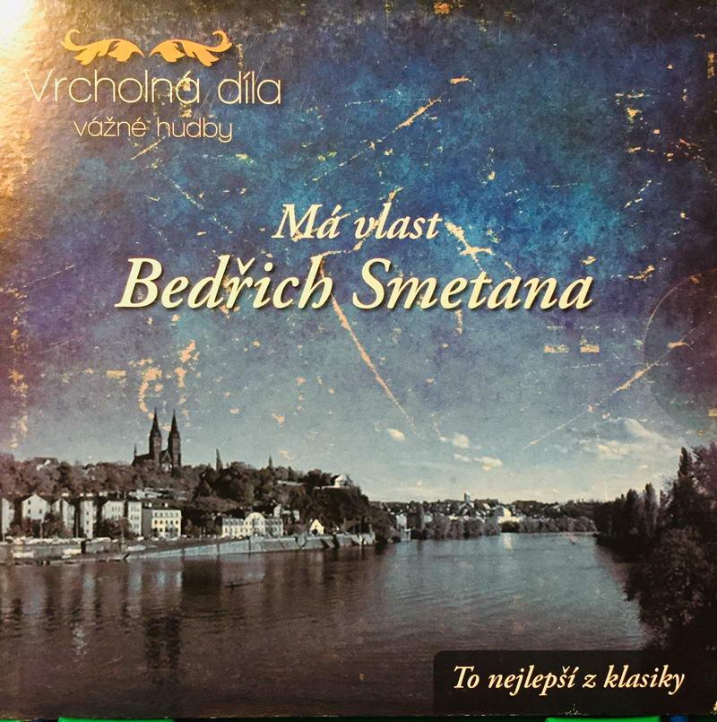 Bedřich Smetana - Má vlast - CD /pošetka/