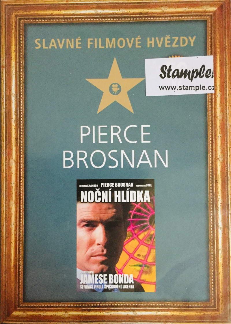 Pierce Brosnan - Noční hlídka - Slavné filmové hvězdy - DVD /slim/