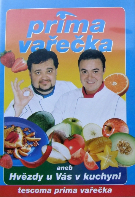 Prima vařečka aneb Hvězdy u Vás v kuchyni - DVD /plast/