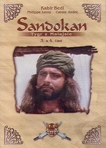 Sandokan - Tygr z Malajsie - 3. a 4. část - DVD /plast/