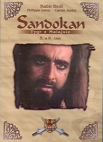 Sandokan - Tygr z Malajsie - 5. a 6. část - DVD /plast/