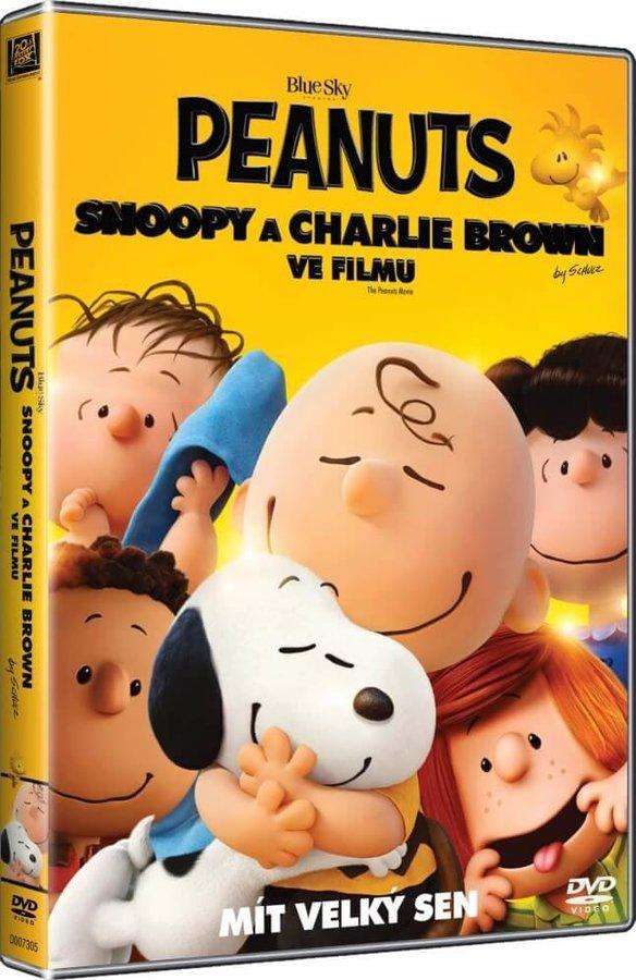 Peanuts - Snoopy a Charlie Brown ve filmu - Mít velký sen - DVD /plast/