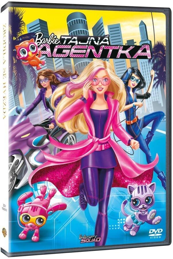 Barbie - Tajná agentka - DVD /plast/