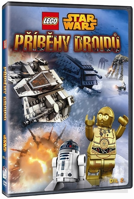 LEGO Star Wars - Příběhy Droidů - díl. 2. - DVD /plast/