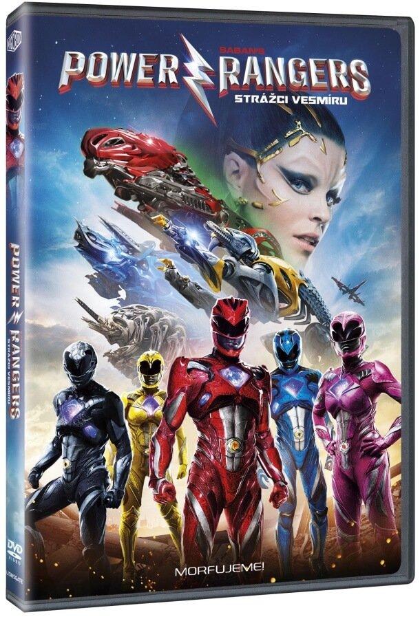 Power Rangers - Strážci vesmíru - DVD /plast/