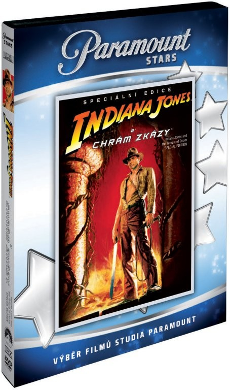 Indiana Jones a Chrám zkázy - Speciální edice - DVD /plast/