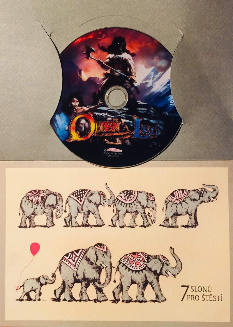 Oheň a led - DVD /dárkový obal/