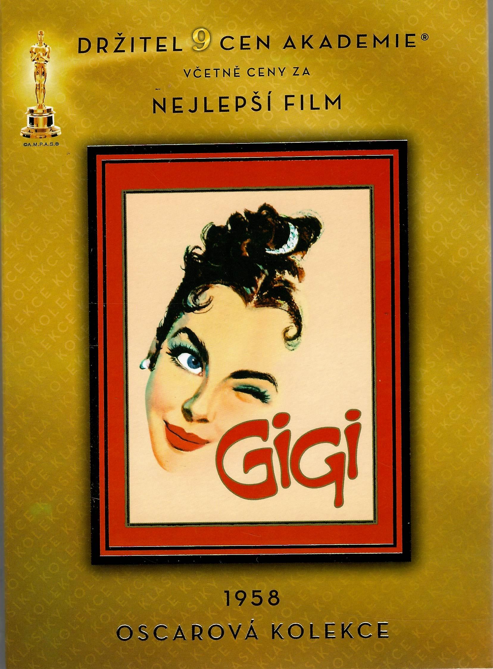 Gigi - DVD /plast/