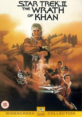 Star Trek II - The Wrath of Khan / Khanův hněv - DVD /plast/