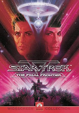 Star Trek V - The Final Frontier  / Nejzazší hranice - DVD /plast/