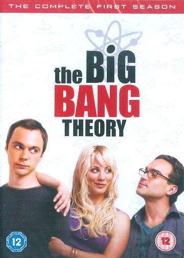 The Big Bang Theory / Teorie velkého třesku - kompletní 1. série - 3xDVD /plast/