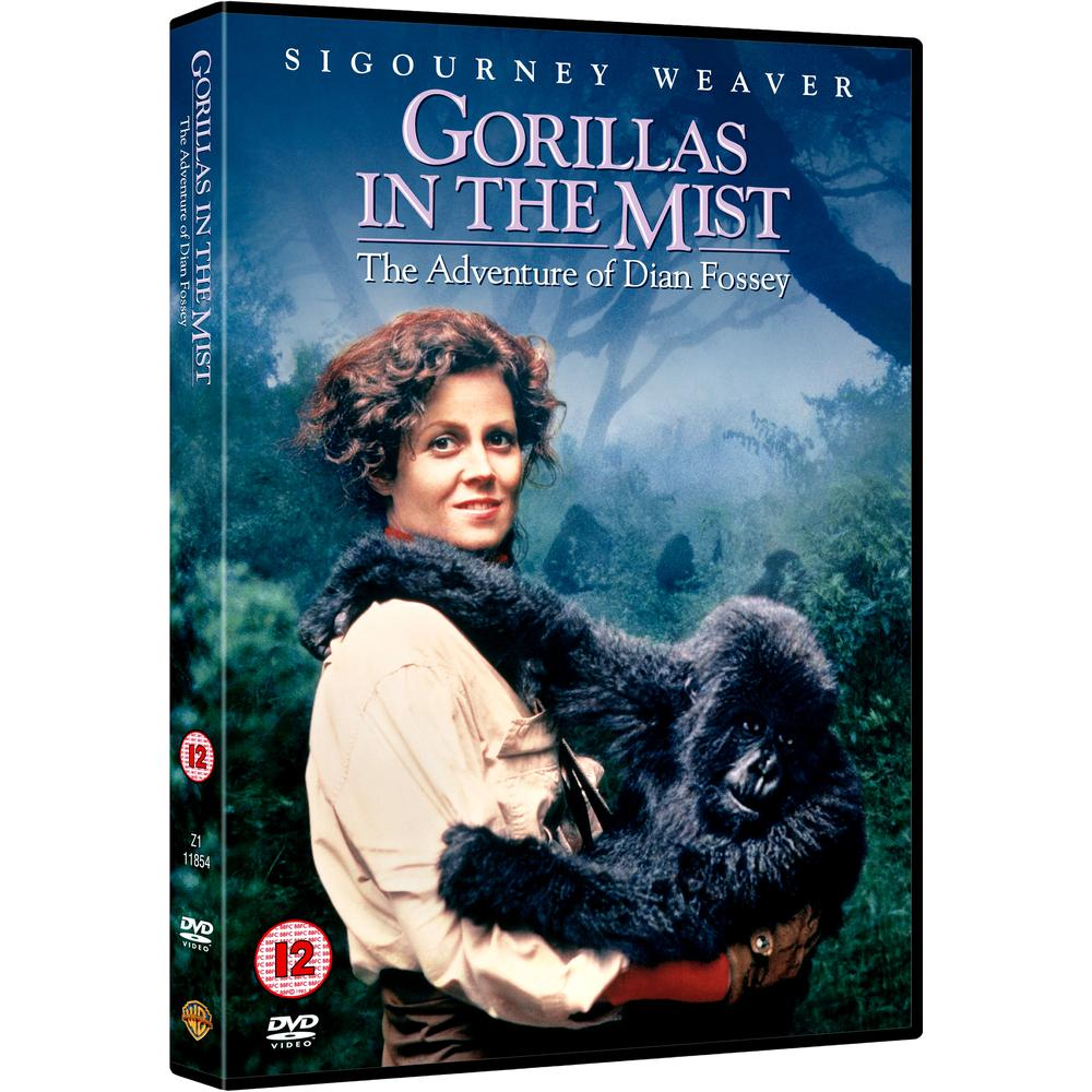 Gorillas in the Mist / Gorily v mlze - DVD /plast/