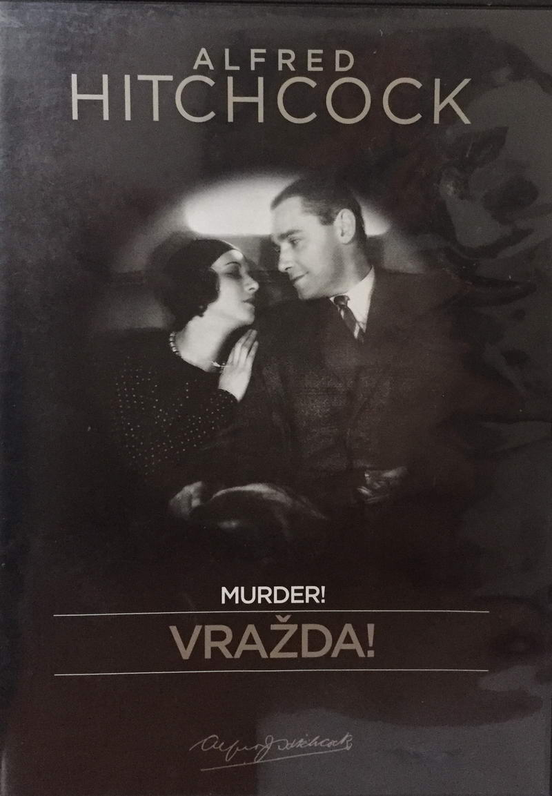 Alfred Hitchcock - Murder! / Vražda! - DVD /plast/