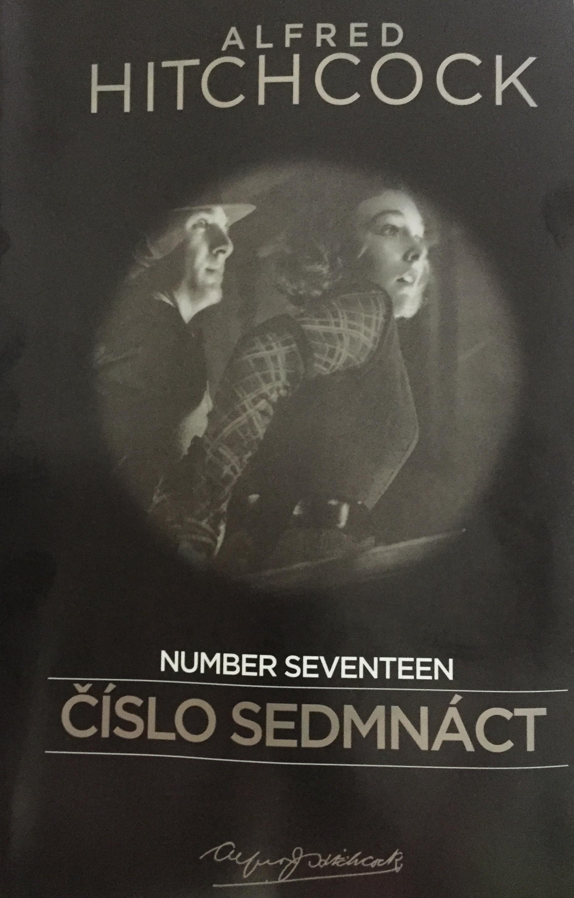 Alfred Hitchcock - Number Seventeen / Číslo sedmnáct - DVD /slim/