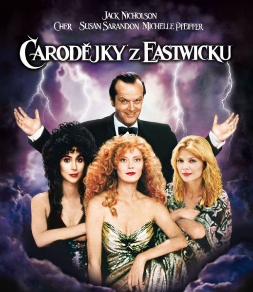 Čarodějky z Eastwicku - DVD /plast/