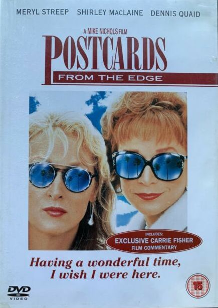 Postcards from the Edge / Pohlednice z Hollywoodu - DVD /plast/
