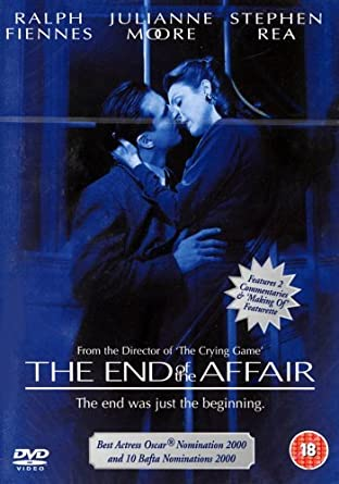 The End of the Affair / Hranice lásky - DVD /plast/